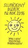 Sluníčkový diářík na rok 2016 - obálka