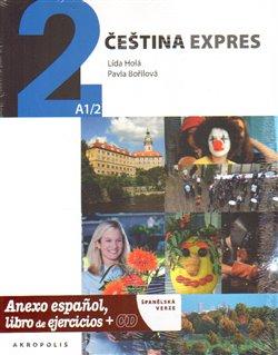 Obálka titulu Čeština expres 2(A1/2) - španělsky + CD