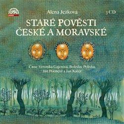 Staré pověsti české a moravské Alena Ježková 3CD