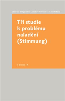 Obálka titulu Tři studie k problému naladění