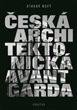 Česká architektonická avantgarda - obálka