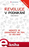 Revoluce v podnikání (Nebojte se zbohatnout na tom, co vás baví) - obálka
