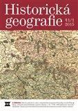 Historická geografie 41/1 2015 - obálka