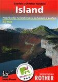 Island - turistický průvodce Rother (Nejkrásnější turistické trasy po horách a pobřeží) - obálka