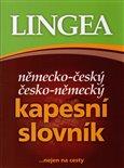 Německo-český česko-německý kapesní slovník (...nejen na cesty) - obálka
