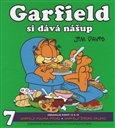 Garfield si dává nášup - obálka
