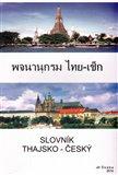 Slovník thajsko - český - obálka