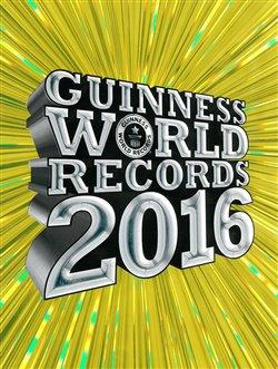 Obálka titulu Guinness World Records 2016