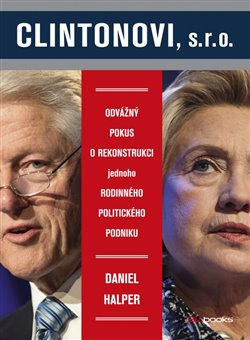 Obálka titulu Clintonovi, s.r.o.