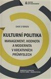 Kulturní politika (Management, hodnota a modernita) - obálka