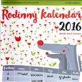 Rodinný kalendář 2016 - obálka
