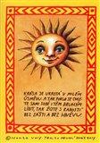 Sada sluníčkových pohlednic - obálka