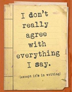 Zápisník - I don't really agree