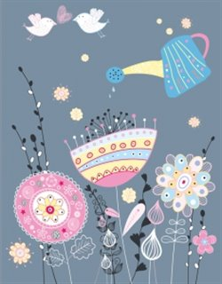 Zápisník - Floral Design
