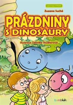 Prázdniny s dinosaury. Chytré čtení - Zuzana Suchá