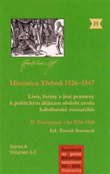 Obálka titulu Historica Třeboň 1526–1547