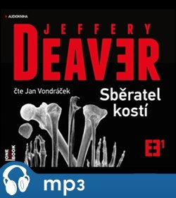OneHotBook Sběratel kostí, mp3 - Jeffery Deaver