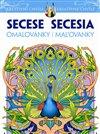 Obálka knihy Secese - Secesní omalovánky pro dospělé