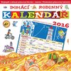 Obálka knihy Domácí rodinný kalendář 2016