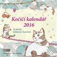 Kočičí kalendář 2016 - obálka