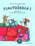 Flautoškola 1 (Učebnice hry na sopránovou zobcovou flétnu) - obálka