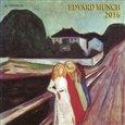 Nástěnný kalendář - Edvard Munch 2016 - obálka