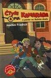 Čtyři a půl kamaráda a panter na školním dvoře - obálka