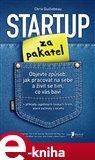 Startup za pakatel (Objevte způsob, jak pracovat na sebe a živit se tím, co vás baví) - obálka