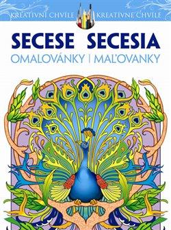 Obálka titulu Secese - Secesní omalovánky pro dospělé