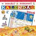 Domácí rodinný kalendář 2016 - obálka