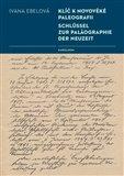 Klíč k novověké paleografii (Schlüssel zur Paläographie der Neuzeit) - obálka