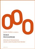 Česká psychopedie - obálka