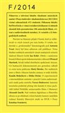 Klauzury FAMU 2014 - obálka