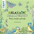 TOPP Relaxační omalovánky - Ptáci, motýli a příroda - obálka