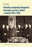 Počiatky európskej integrácie (koncepty, procesy, aktéri v rokoch 1944–1952) - obálka