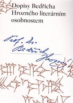 Obálka titulu Dopisy Bedřicha Hrozného literárním osobnostem