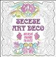 Secese Art deco (Antistresové omalovánky pro dospělé) - obálka