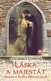 Láska a majestát (Román o Elišce Přemyslovně) - obálka