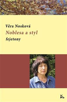 Obálka titulu Noblesa a styl