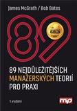 89 nejdůležitějších manažerských teorií pro praxi - obálka
