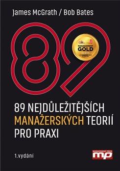 Obálka titulu 89 nejdůležitějších manažerských teorií pro praxi