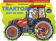 Traktor jede na pole - obálka