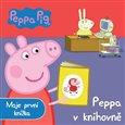 Prasátko Peppa - Peppa v knihovně (Moje první knížka) - obálka