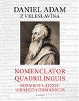 Nomenclator quadrilinguis Boemico-Latino-Graeco-Germanicus - obálka