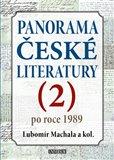 Panorama české literatury - 2. díl (Po roce 1989) - obálka