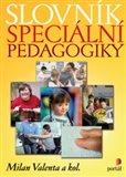 Slovník speciální pedagogiky - obálka