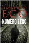Obálka knihy Numero Zero