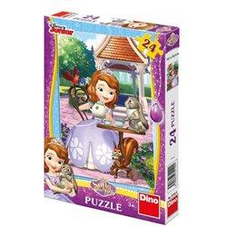 Puzzle Sofie a zvířátka 24 dílků