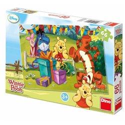 Teddies Medvídek Pú Oslava puzzle 66 dílků
