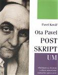 Ota Pavel: Postskriptum - obálka